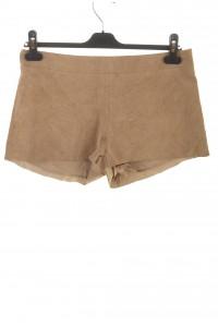 Светло бежови дамски къси панталони