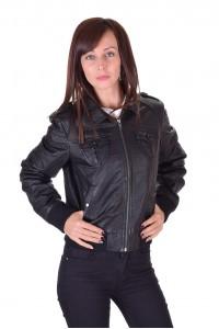 Превъзходно дамско кожено яке