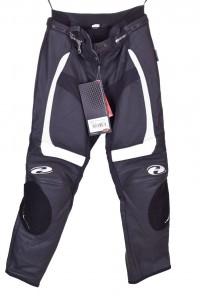 Дамски моторджийски панталон от естествена кожа