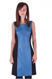 Великолепна дамска кожена рокля