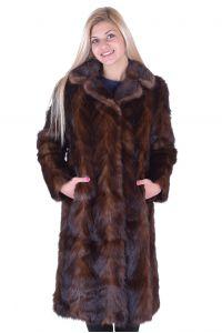 Представително дамско палто от норка