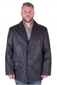 Елегантно мъжко кожено сако