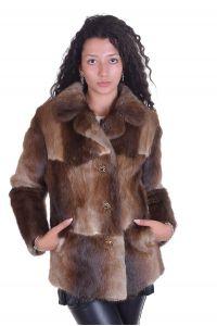 Палто от естествен косъм