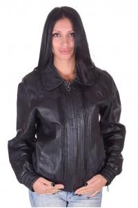 Отлично дамско кожено яке