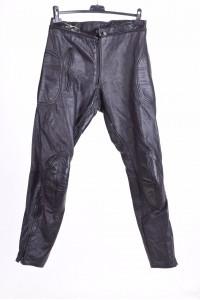 Чудесен дамски моторджийски панталон от естествена кожа