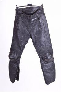 Мъжки моторджийски панталон от естествена кожа