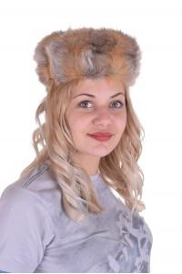 Красива шапка от лисица