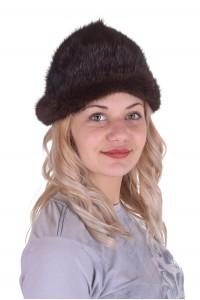 Хубава шапка от естествен косъм